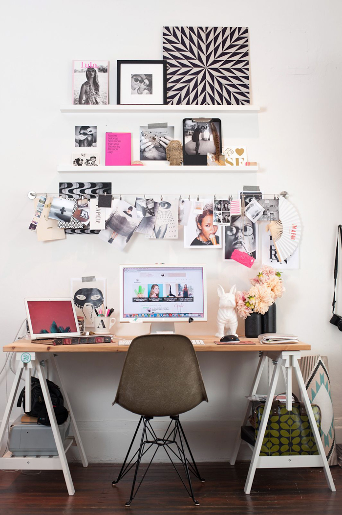 Phenomenal Home Office Ideas Livvyland Austin Fashion And Style Blogger Largest Home Design Picture Inspirations Pitcheantrous