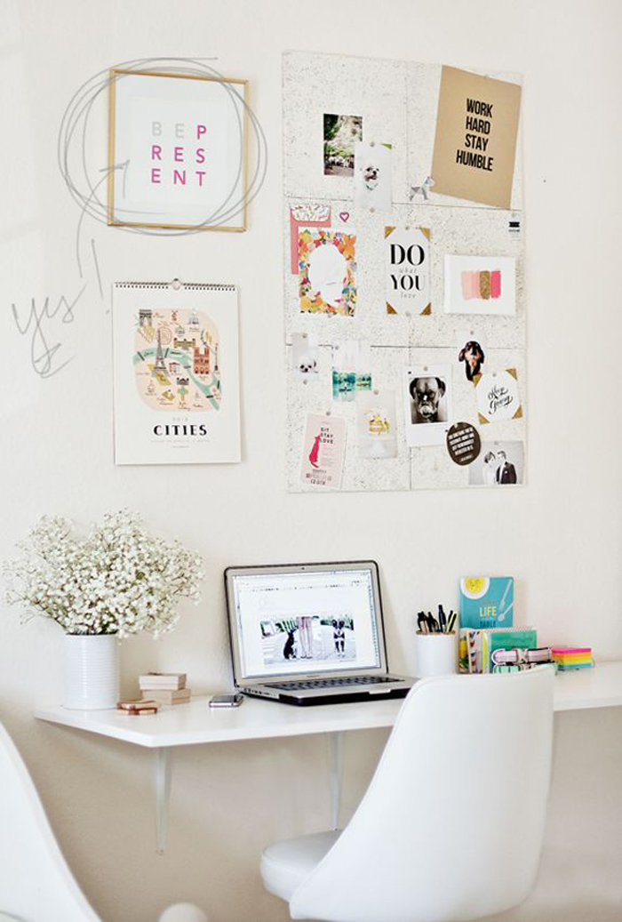 Terrific Home Office Ideas Livvyland Austin Fashion And Style Blogger Largest Home Design Picture Inspirations Pitcheantrous
