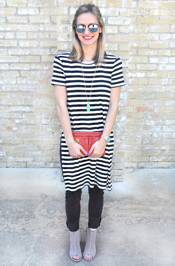 livvyland-blog-olivia-watson-austin-texas-fashion-blogger-forever21-striped-long-high-slit-tee-shirt-toms-booties-spring-style-5