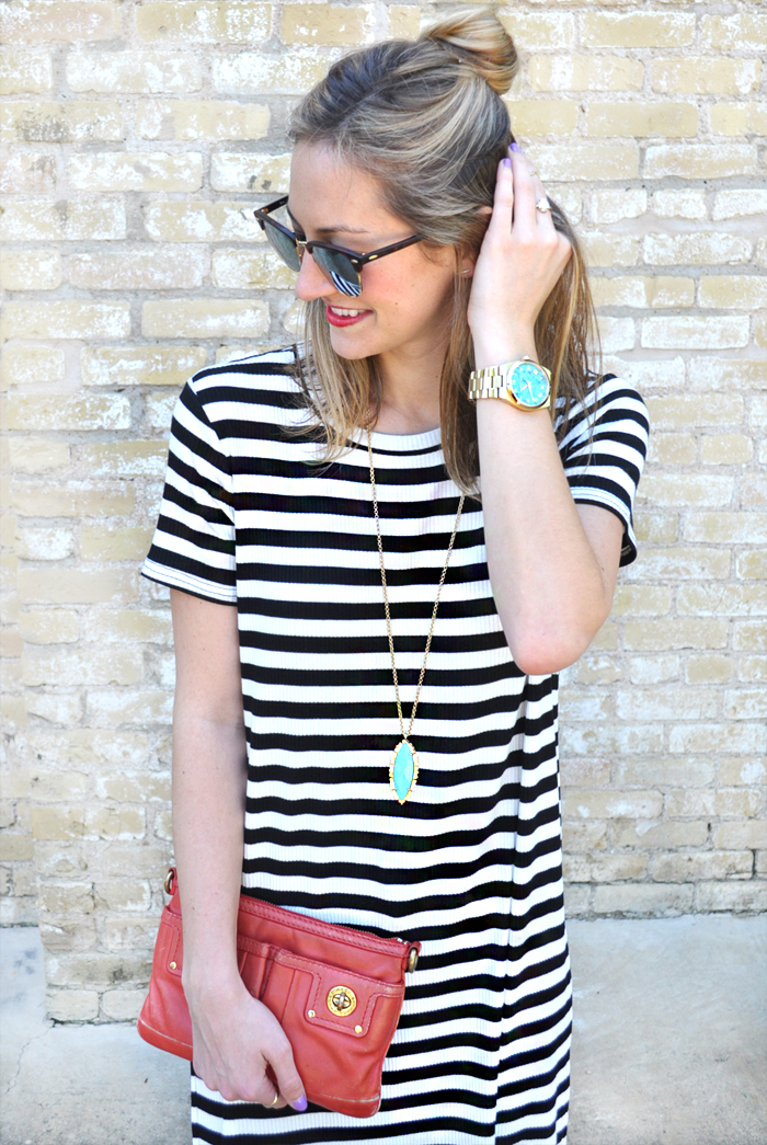 livvyland-blog-olivia-watson-austin-texas-fashion-blogger-forever21-striped-long-high-slit-tee-shirt-toms-booties-spring-style-6