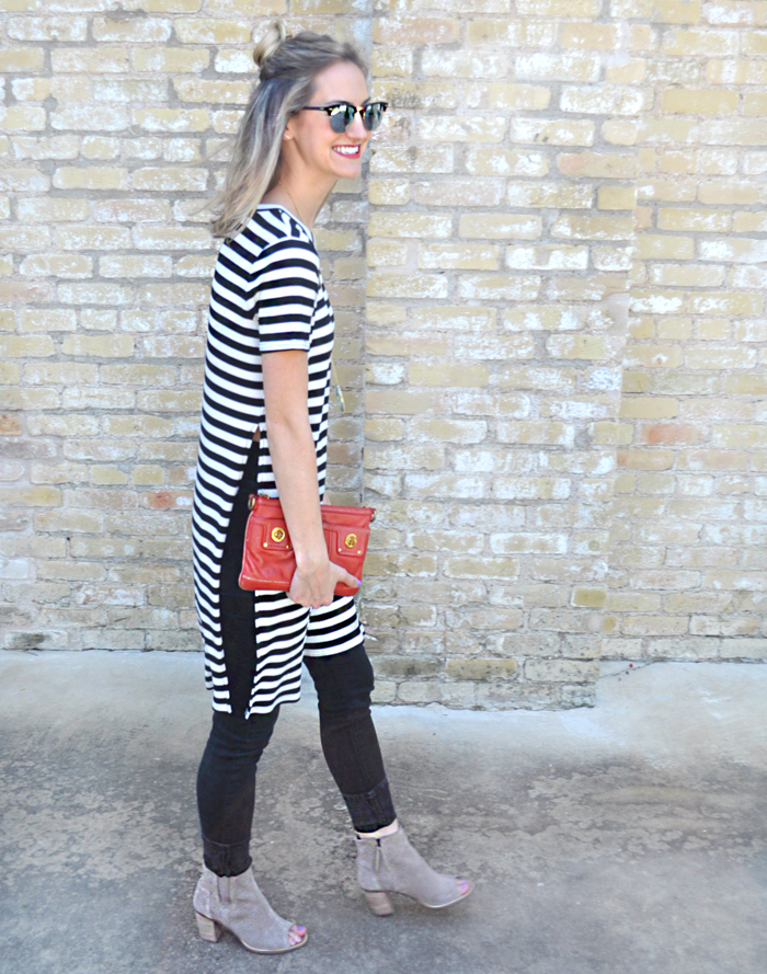 livvyland-blog-olivia-watson-austin-texas-fashion-blogger-forever21-striped-long-high-slit-tee-shirt-toms-booties-spring-style-9
