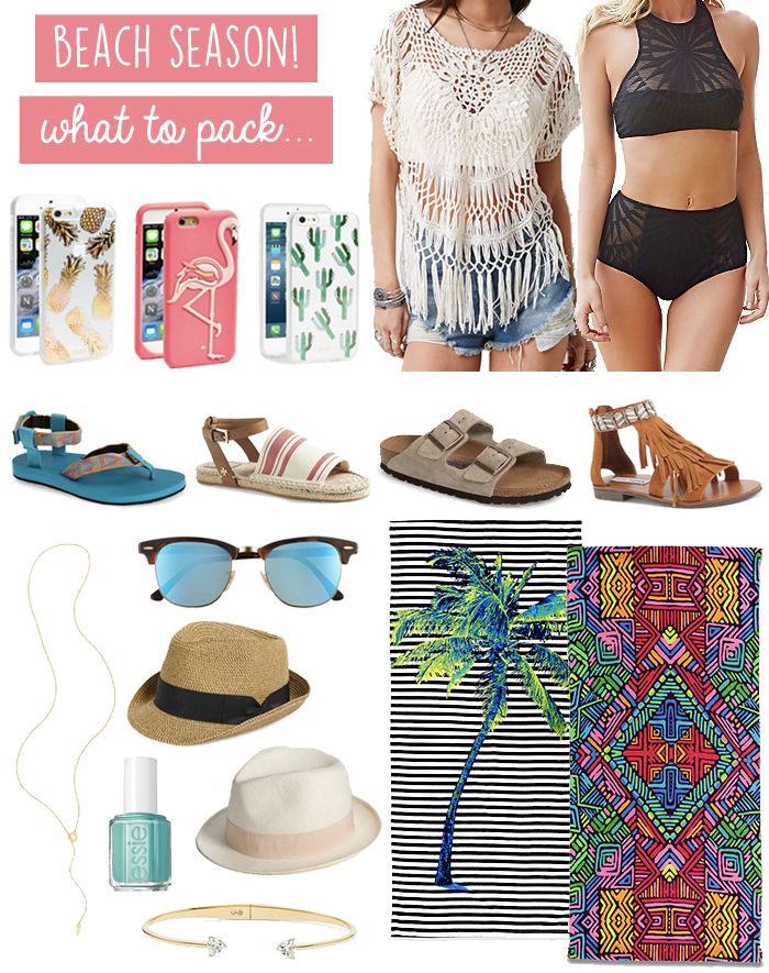 d5988f3b What to Pack for a Beach Vacation - LivvyLand | Austin Fashion and ...