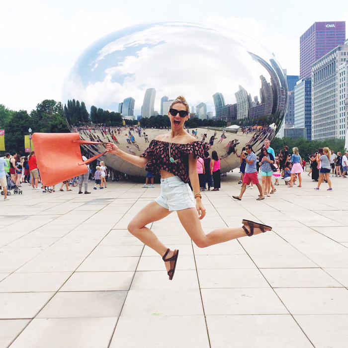 livvyland-the-bean-olivia-watson-jumping-photo-chicago-vacation-what-to-do-austin-fashion-blogger