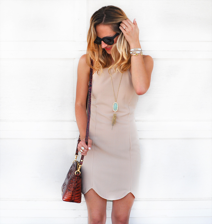livvyland-blog-dee-elle-scallop-trim-body-con-dress-bodycon-nude-beige-taupe-austin-texas-fashion-blogger-olivia-watson-2