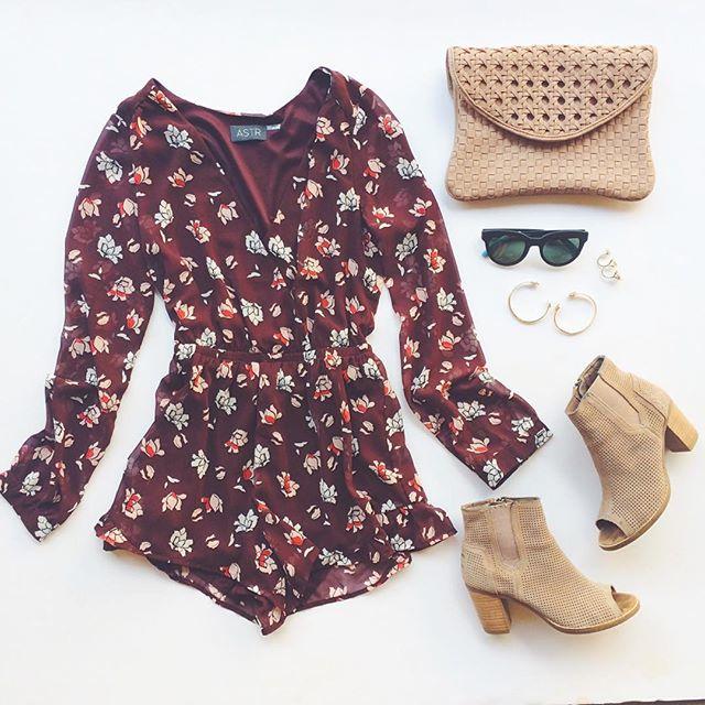 livvyland-blog-olivia-watson-astr-maroon-floral-romper-toms-majorca-suede-peep-toe-heels