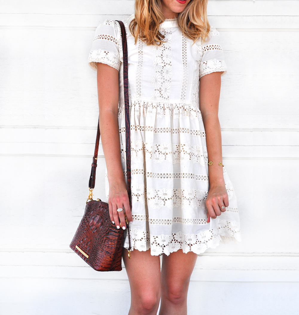 livvyland-blog-olivia-watson-chicwish-darling-lace-dolly-dress-white-cream-austin-texas-fashion-blogger-kendra-scott-danielle-earrings-turquoise-2