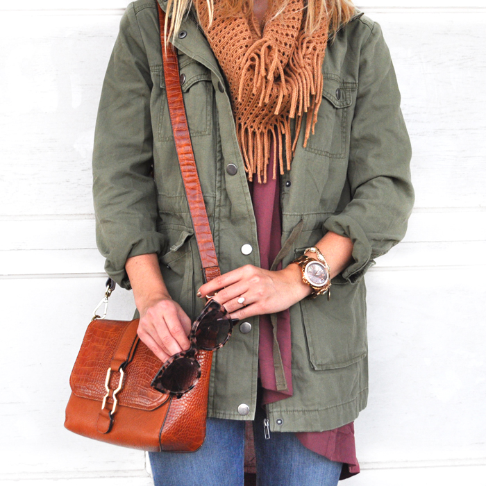 livvyland-blog-olivia-watson-austin-fashion-lifestyle-blogger-texas-green-utility-jacket-fall-layered-layers-outfit-inspiration-indigo-road-fringe-booties-3