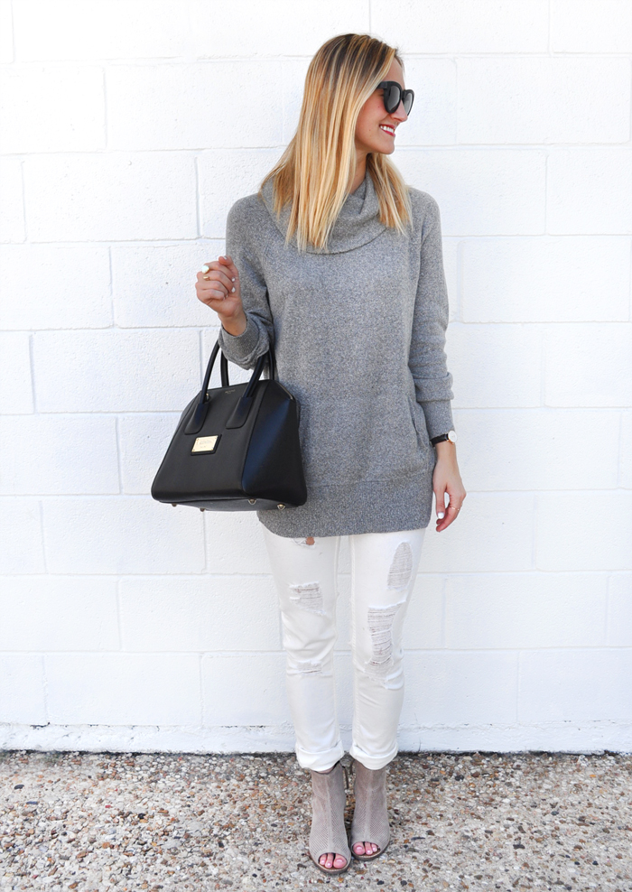 livvyland-blog-caslon-cowl-neck-sweater-grey-vigoss-distressed-white-skinny-jeans-toms-majorca-booties-olivia-watson-fall-winter-outfit-austin-texas-fashion-blogger-blog-5