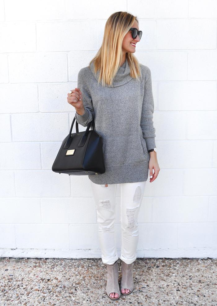 livvyland-blog-caslon-cowl-neck-sweater-grey-vigoss-distressed-white-skinny-jeans-toms-majorca-booties-olivia-watson-fall-winter-outfit-austin-texas-fashion-blogger-blog-5