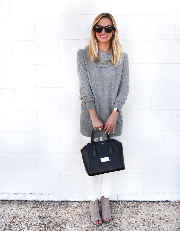 livvyland-blog-caslon-cowl-neck-sweater-grey-vigoss-distressed-white-skinny-jeans-toms-majorca-booties-olivia-watson-fall-winter-outfit-austin-texas-fashion-blogger-blog-7