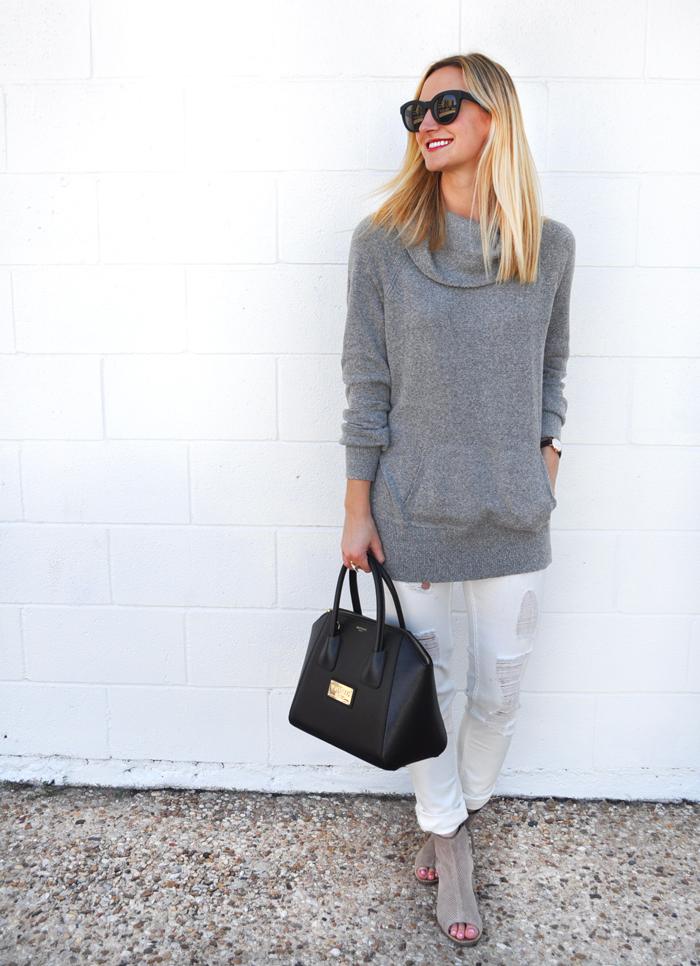 livvyland-blog-caslon-cowl-neck-sweater-grey-vigoss-distressed-white-skinny-jeans-toms-majorca-booties-olivia-watson-fall-winter-outfit-austin-texas-fashion-blogger-blog-9