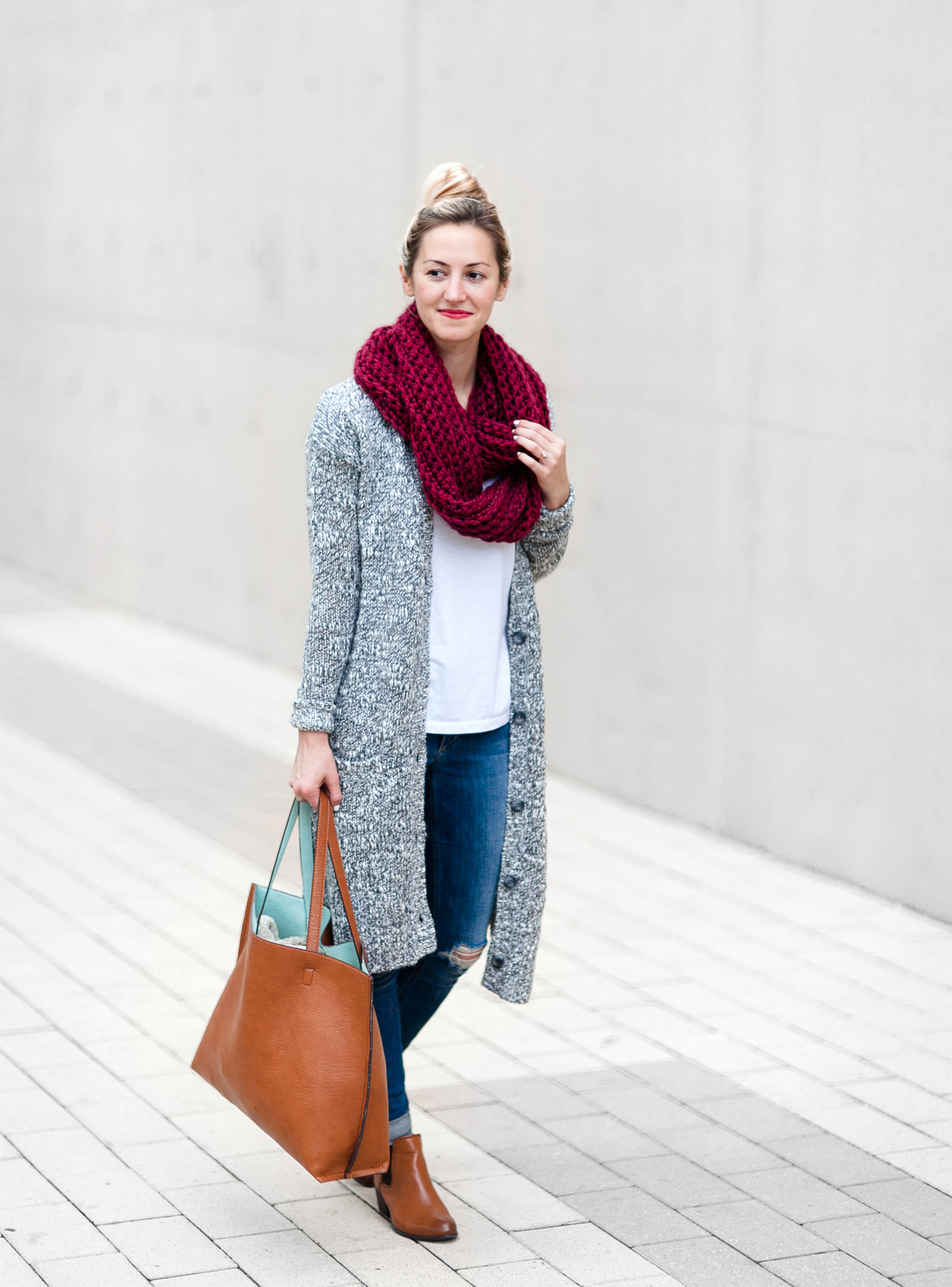 Cozy Long Cardigan (On Sale!) - LivvyLand | Austin Fashion and ...