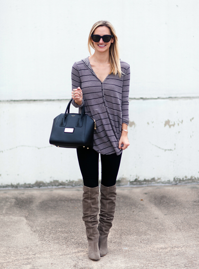 livvyland-blog-olivia-watson-striped-top-fall-outfit-seychelles-larimar-over-the-knee-taupe-suede-boots-3