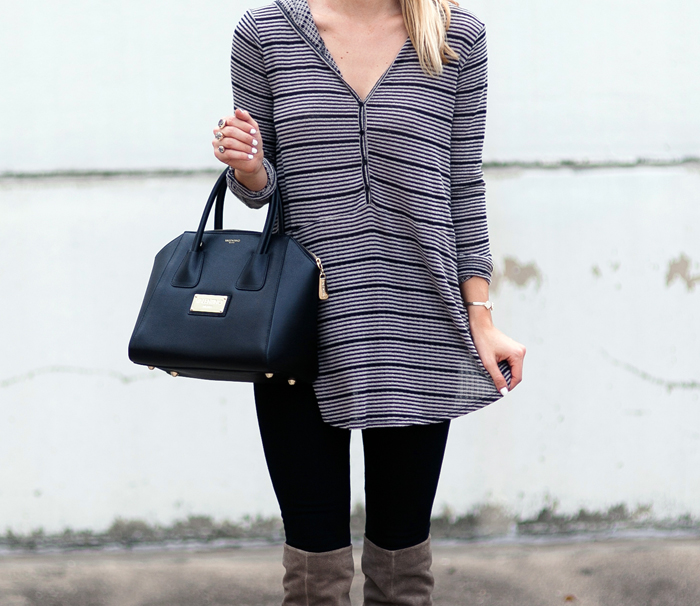 livvyland-blog-olivia-watson-striped-top-fall-outfit-seychelles-larimar-over-the-knee-taupe-suede-boots-5