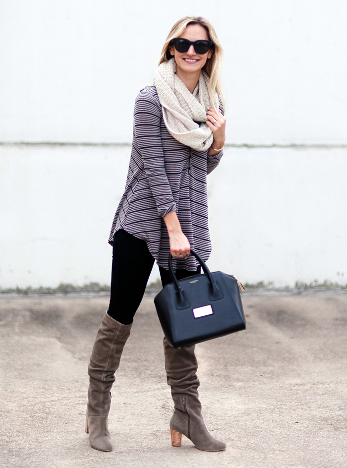 livvyland-blog-olivia-watson-striped-top-fall-outfit-seychelles-larimar-over-the-knee-taupe-suede-boots-7