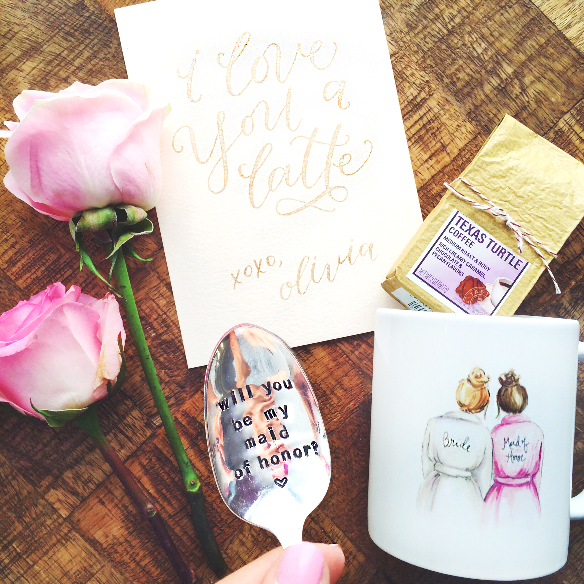 Style Me Pretty: Asking My Bridal Party - LivvyLand | Austin Fashion ...