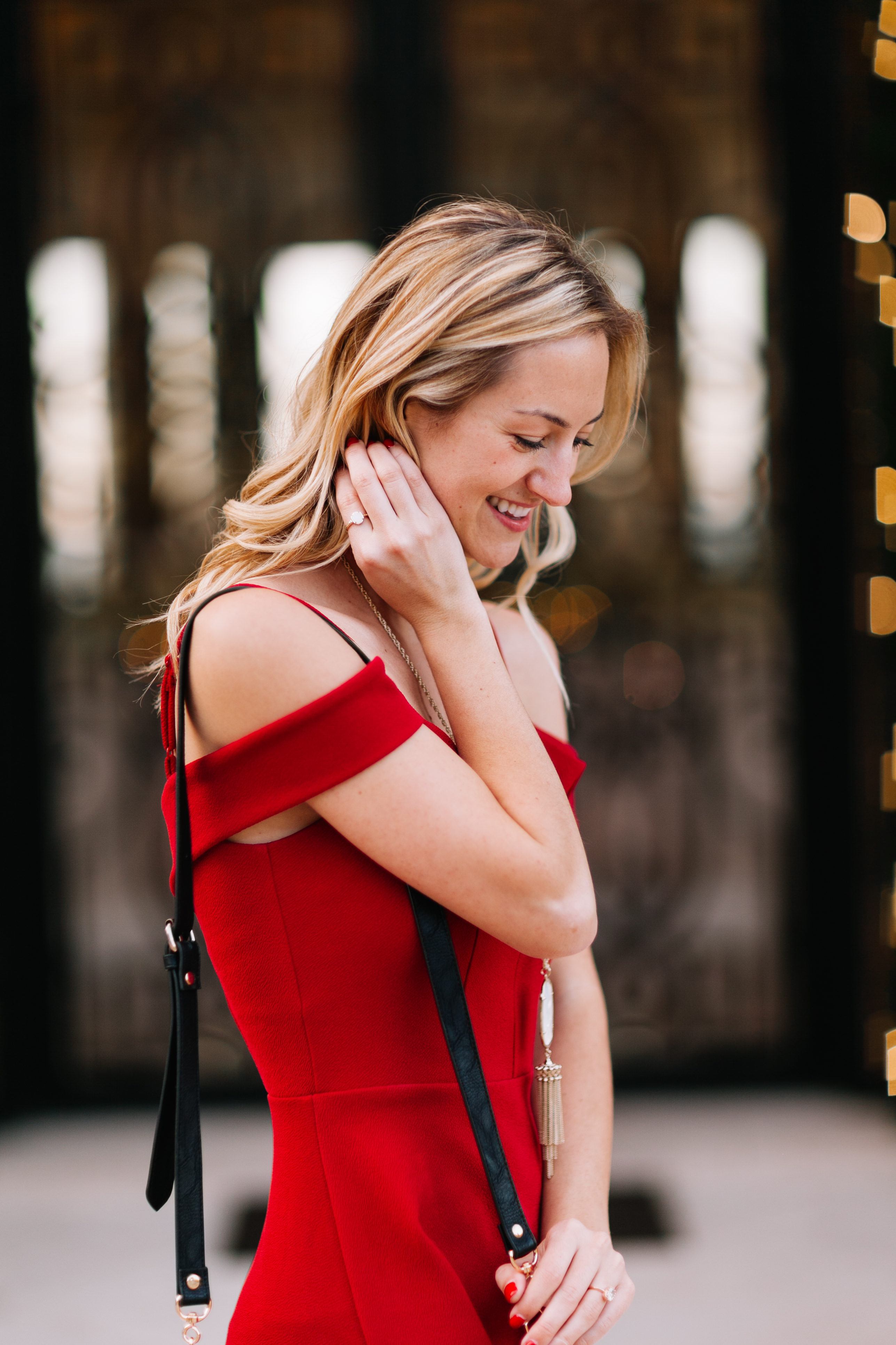 livvyland-blog-olivia-watson-holiday-christmas-party-outfit-dress-what-to-wear-kayla-snell-photography-off-the-shoulder-sweetheart-neckline-2