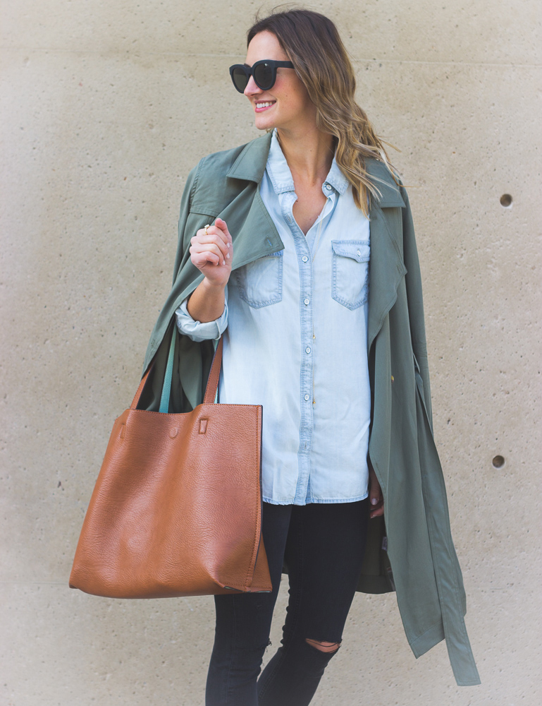 livvyland-blog-olivia-watson-toms-sunglasses-olive-green-trench-coat