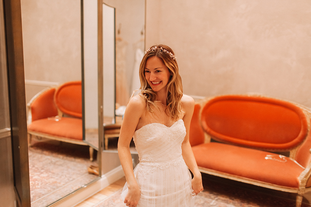 I Said Yes To The Dress! BHLDN Houston Bridal Salon - LivvyLand ...