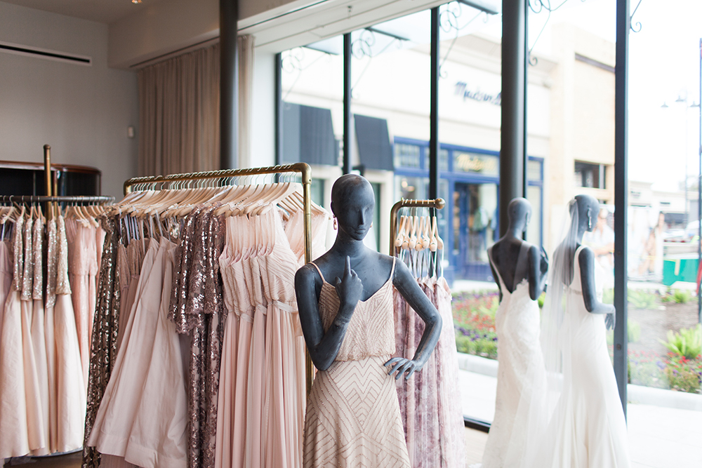 livvyland-blog-bhldn-store-front-houston-texas-bridal-salon-wedding-dress-shopping-austin-texas-fashion-blogger-olivia-watson-kayla-snell-photography-blush-bridesmaid-dress-sequin
