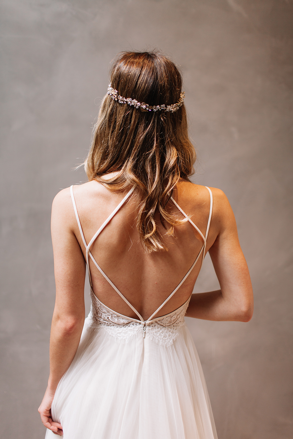 livvyland-blog-bhldn-store-front-houston-texas-bridal-salon-wedding-dress-shopping-austin-texas-fashion-blogger-olivia-watson-kayla-snell-photography-headpiece-beaded-strappy-open-backless-back
