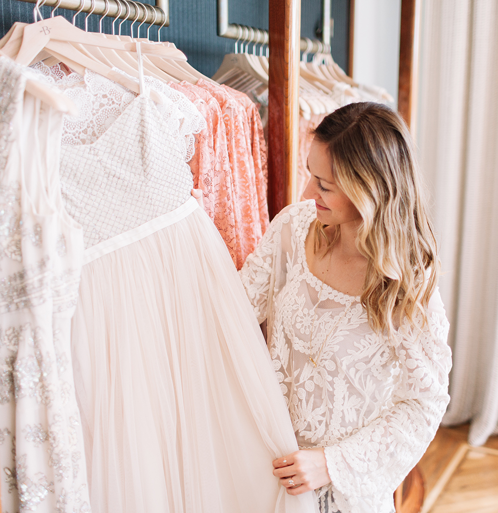 livvyland-blog-bhldn-store-front-houston-texas-bridal-salon-wedding-dress-shopping-austin-texas-fashion-blogger-olivia-watson-kayla-snell-photography-reception-exit-dress-cocktail-white