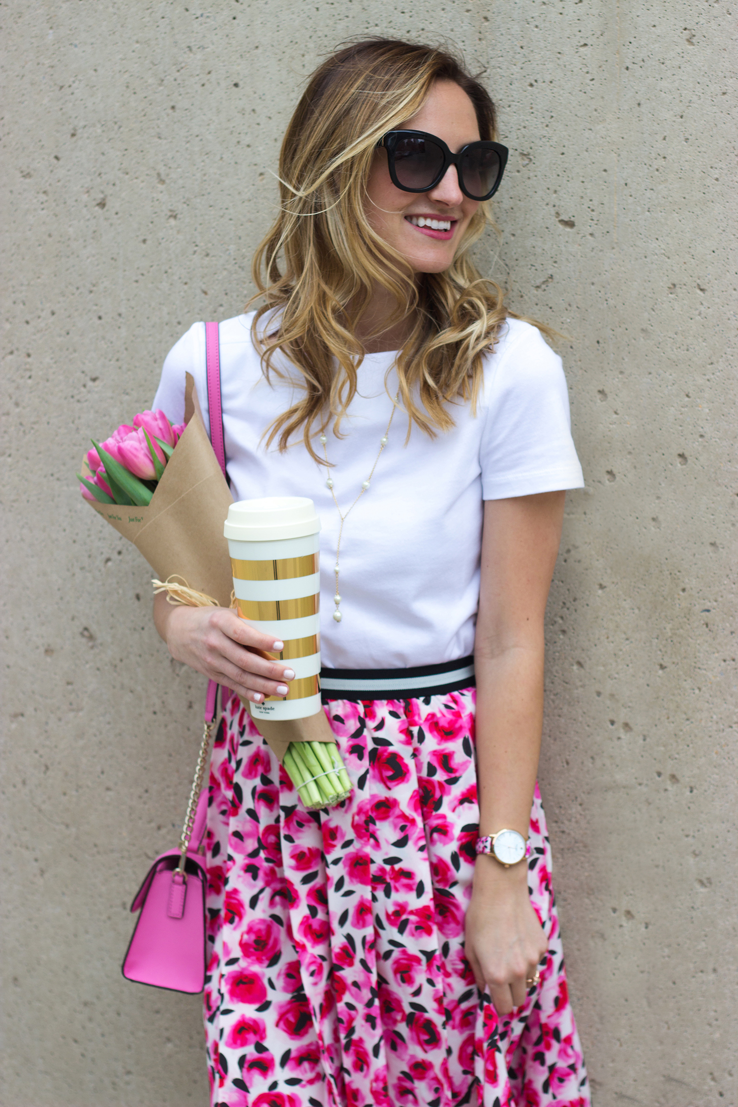 livvyland-blog-olivia-watson-austin-texas-fashion-blogger-kate-spade-broome-street-everyday-tee-white-rose-pleated-skirt-pink-black-spring-outfit-3