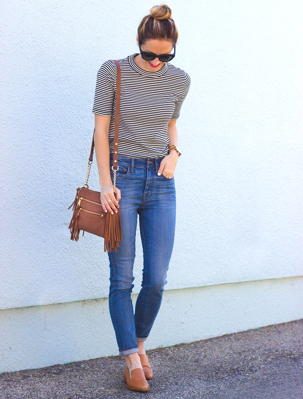 livvyland-blog-olivia-watson-austin-texas-fashion-blogger-madewell-high-riser-skinny-crop-jeans-in-bayview-tan-loafer-flats-outfit-2