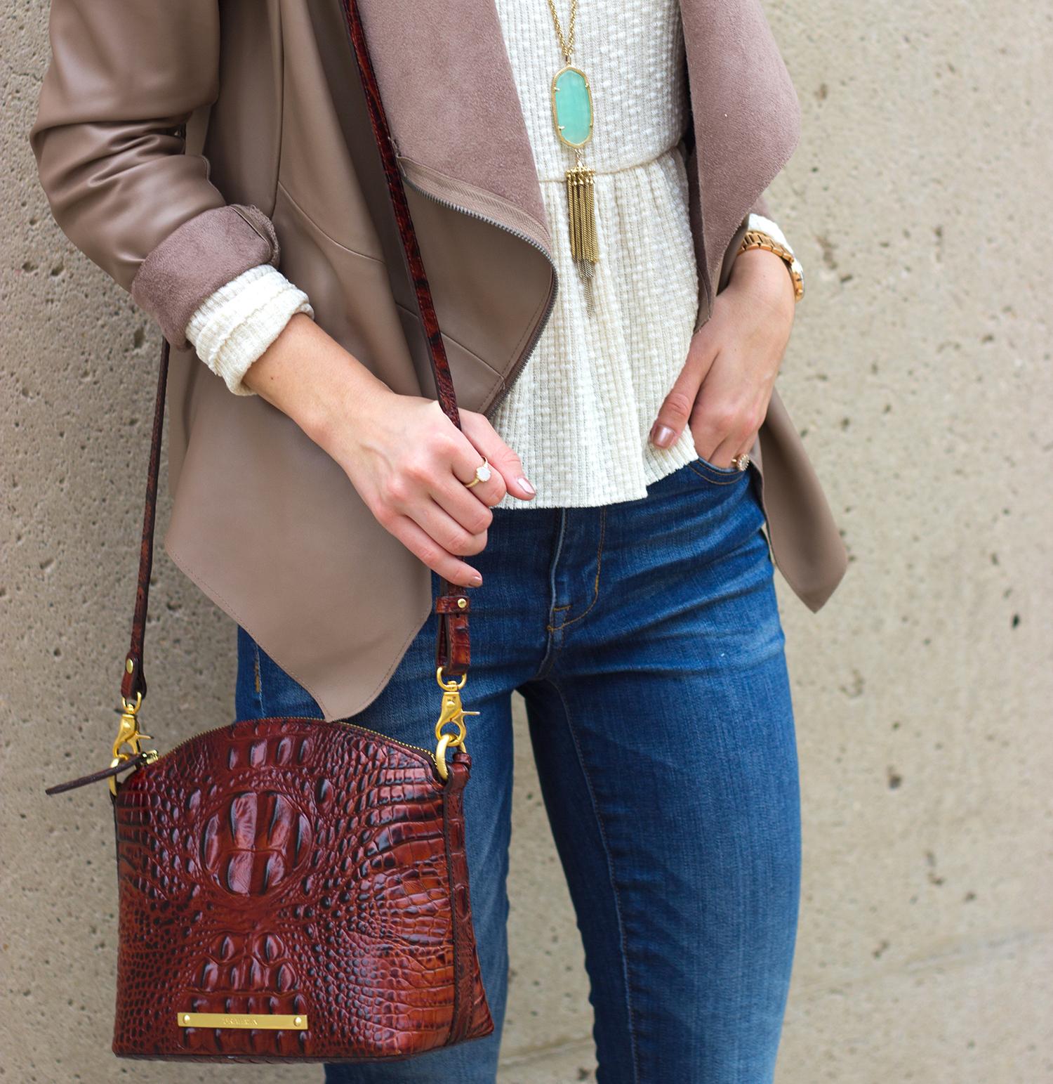 livvyland-blog-olivia-watson-austin-texas-fashion-blogger-madewell-skinny-jeans-bb-dakota-bradford-tan-draped-front-jacket-brahmin-toms-majorca-booties-6