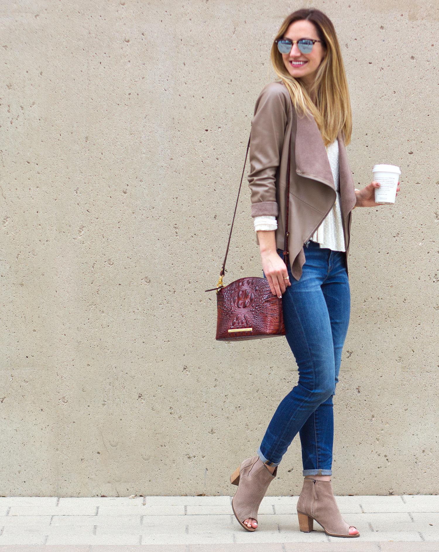 livvyland-blog-olivia-watson-austin-texas-fashion-blogger-madewell-skinny-jeans-bb-dakota-bradford-tan-draped-front-jacket-brahmin-toms-majorca-booties-8
