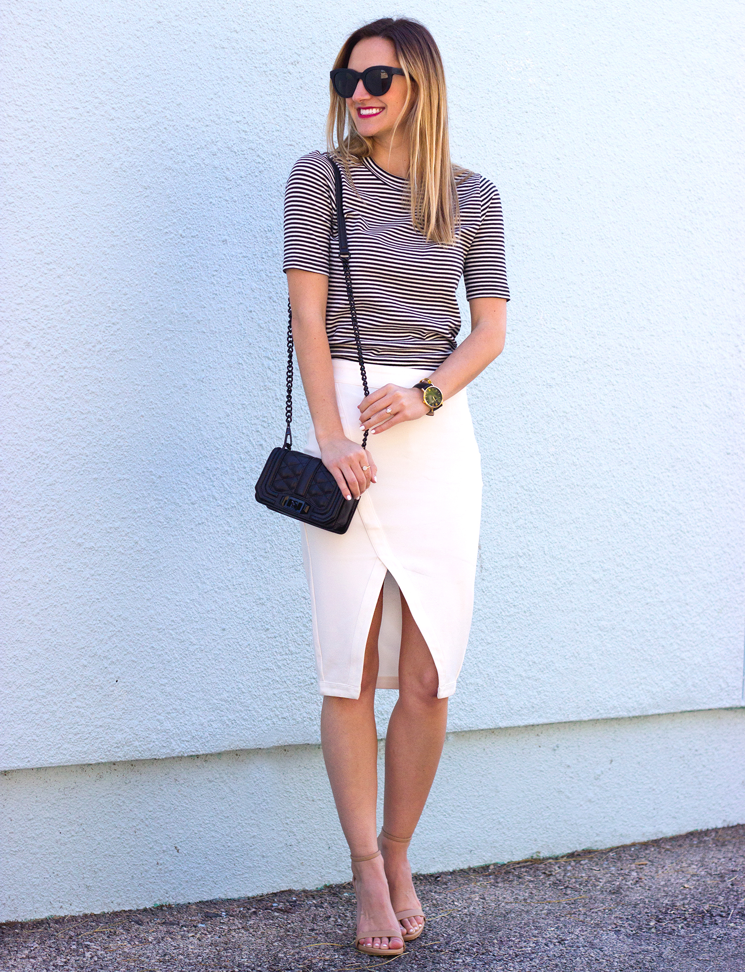 livvyland-blog-olivia-watson-austin-texas-fashion-blogger-steve-madden-stecy-nude-heels-cupcakes-and-cashmere-white-pencil-skirt-madewell-striped-tee-shirt-3