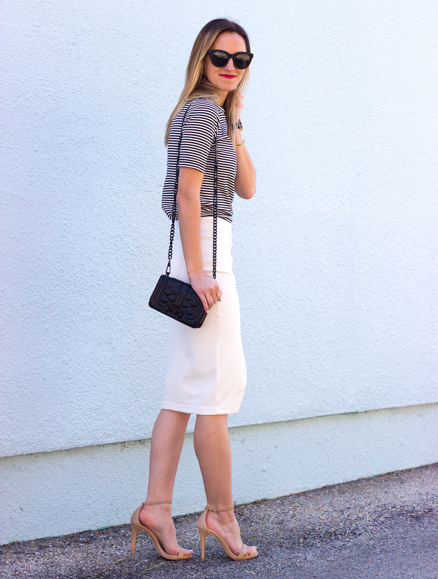 livvyland-blog-olivia-watson-austin-texas-fashion-blogger-steve-madden-stecy-nude-heels-cupcakes-and-cashmere-white-pencil-skirt-madewell-striped-tee-shirt-5