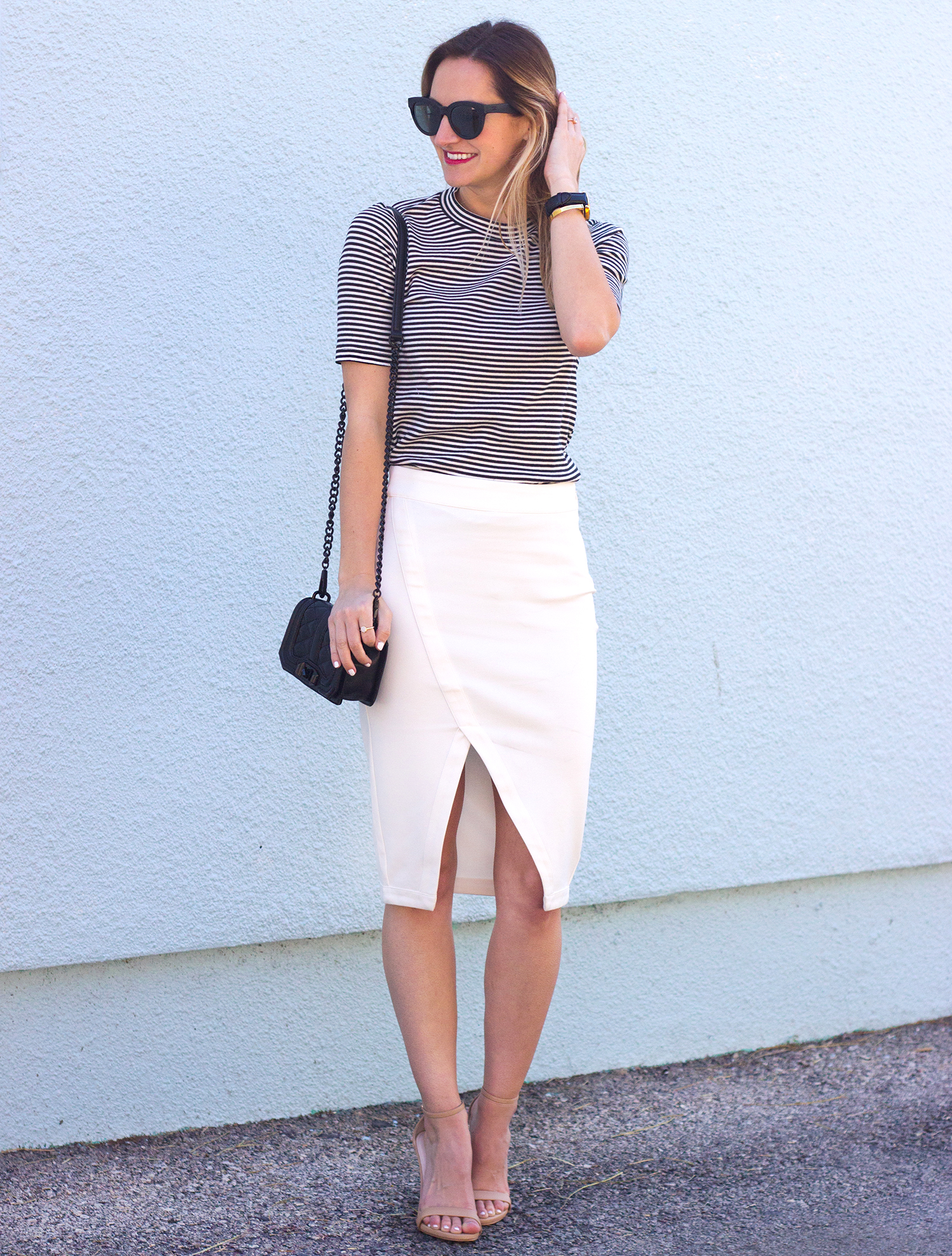 livvyland-blog-olivia-watson-austin-texas-fashion-blogger-steve-madden-stecy-nude-heels-cupcakes-and-cashmere-white-pencil-skirt-madewell-striped-tee-shirt-6