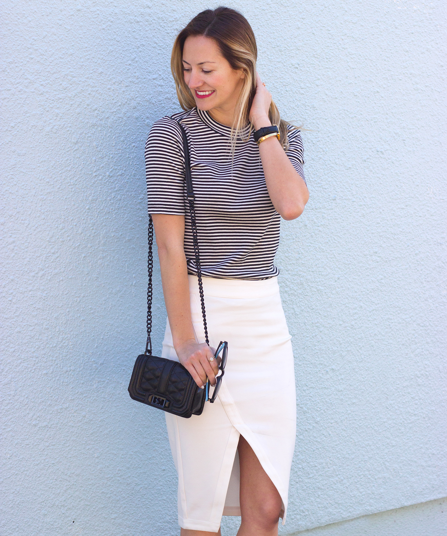 livvyland-blog-olivia-watson-austin-texas-fashion-blogger-steve-madden-stecy-nude-heels-cupcakes-and-cashmere-white-pencil-skirt-madewell-striped-tee-shirt-7
