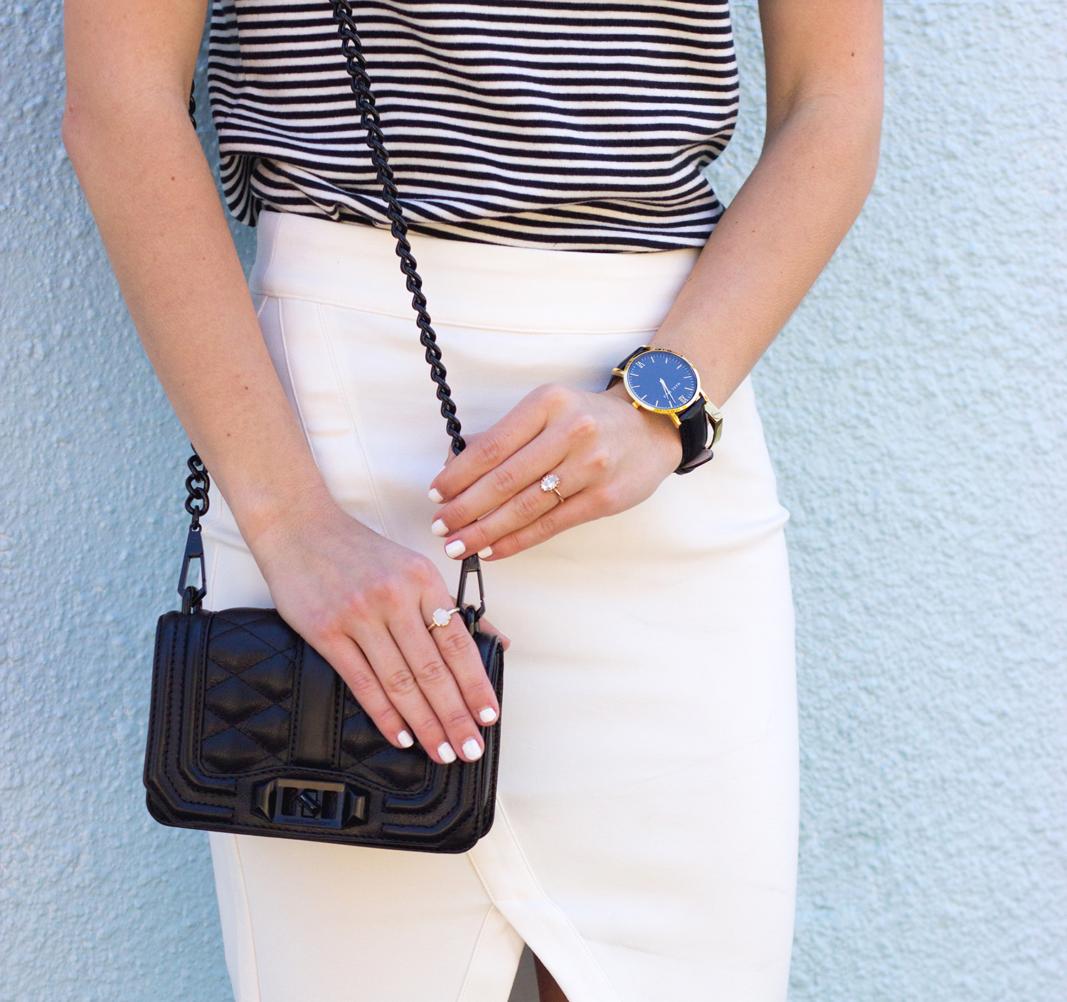 livvyland-blog-olivia-watson-austin-texas-fashion-blogger-steve-madden-stecy-nude-heels-cupcakes-and-cashmere-white-pencil-skirt-madewell-striped-tee-shirt-8