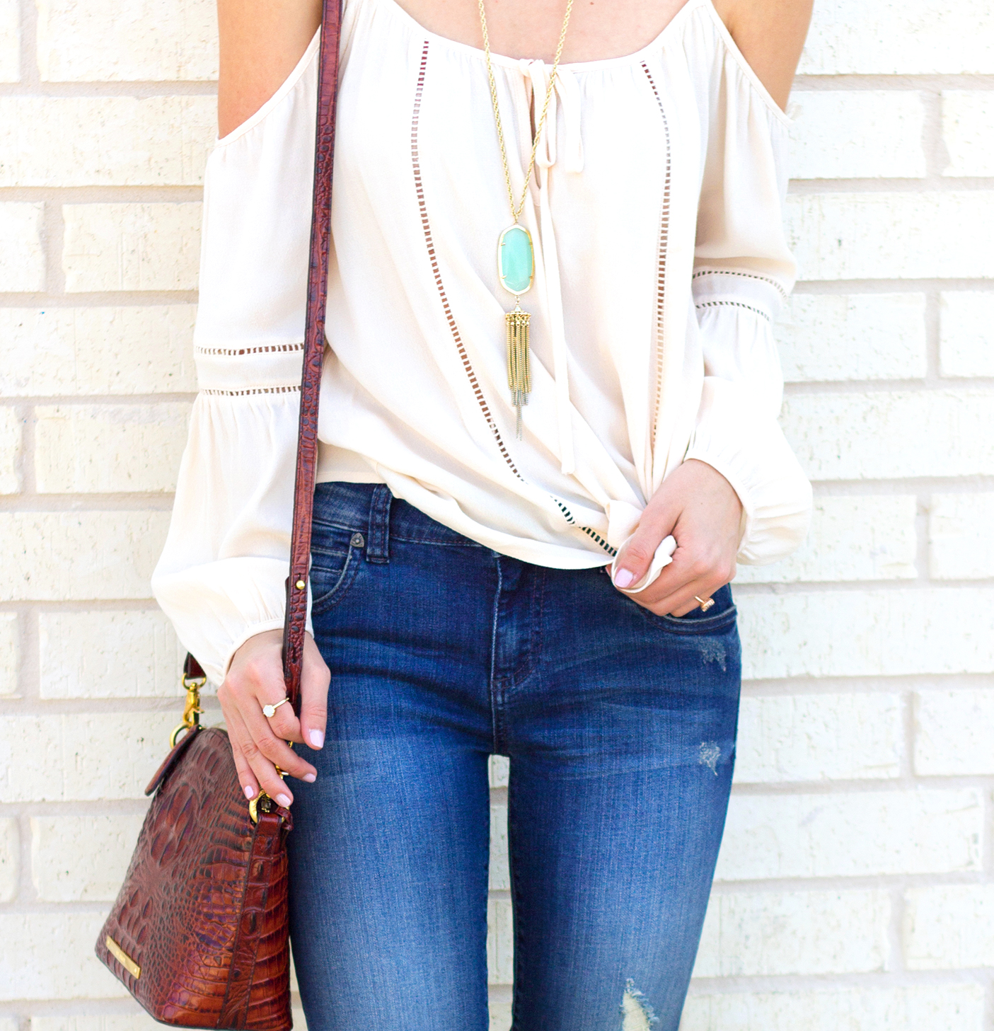 1-livvyland-blog-olivia-watson-austin-texas-fashion-blogger-kut-against-the-kloth-skinny-jeans-cream-nude-cold-shoulder-off-top-spring-nordstrom-stecy-heels-steve-madden-6
