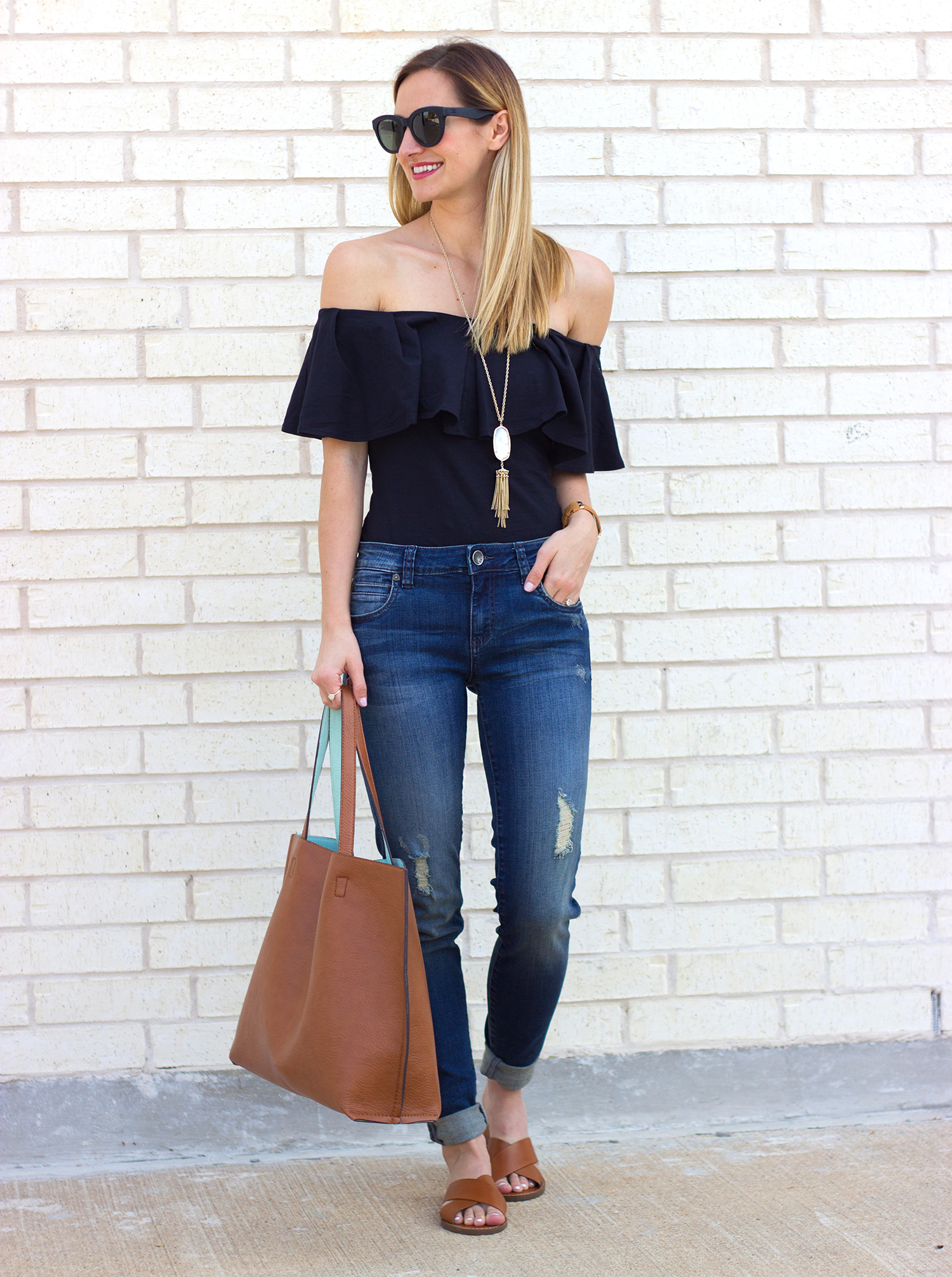 livvyland-blog-olivia-watson-austin-texas-fashion-blogger-boho-kut-from-the-kloth-skinny-jeans-nordstrom-madewell-slip-on-flats-free-people-tula-off-shoulder-top-5