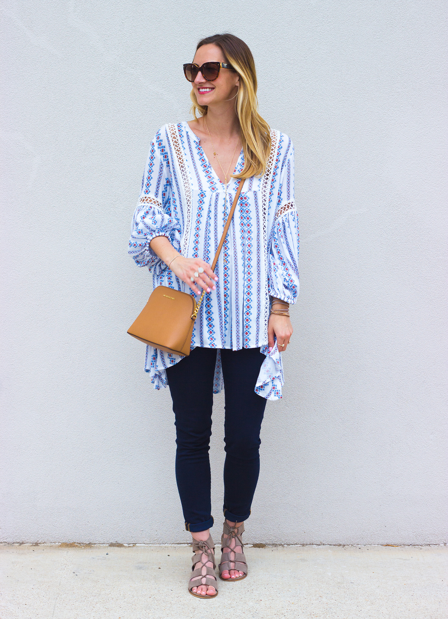 livvyland-blog-olivia-watson-boho-printed-oversize-tunic-chicwish-rebecca-minkoff-dark-wash-skinny-jeans-olivia-watson-austin-texas-fashion-blogger-steve-madden-roslyn-lace-up-sandals-3