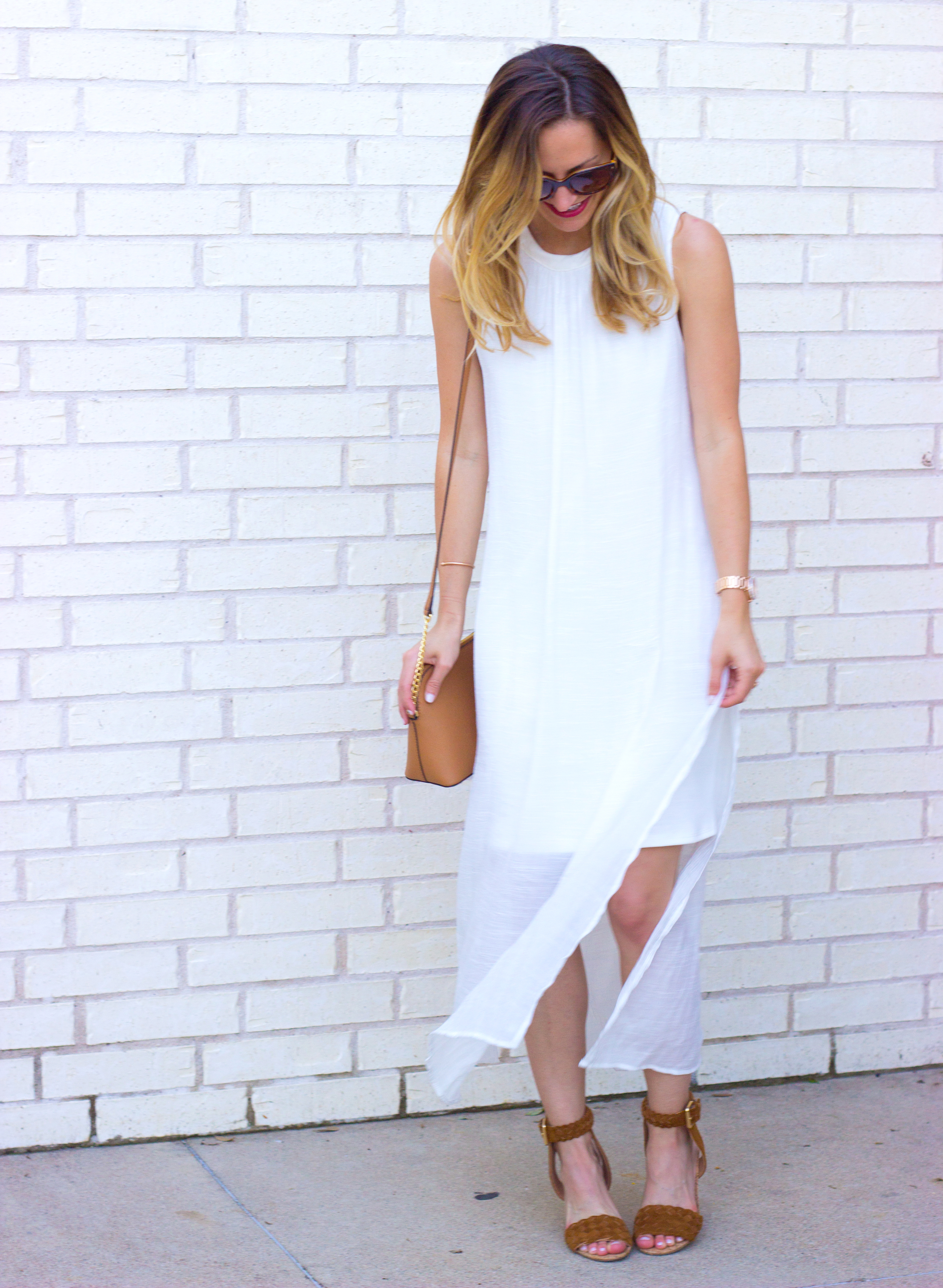 livvyland-blog-olivia-watson-white-sheer-midi-dress-painted-threads-braided-sandal-heels-austin-texas-fashion-blogger-rose-gold-kendra-scott-prada-cateye-sunglasses-spring-outfit-10