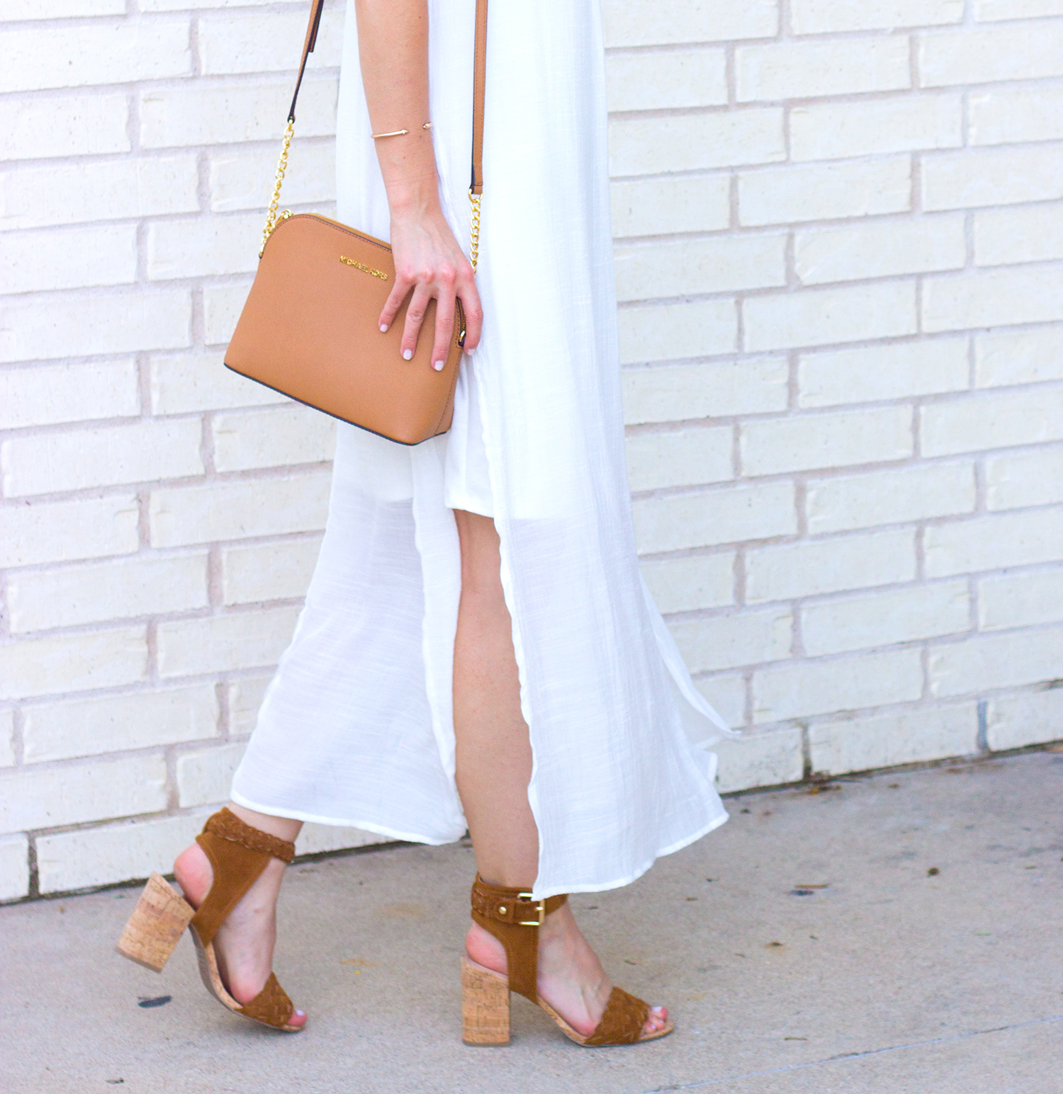 livvyland-blog-olivia-watson-white-sheer-midi-dress-painted-threads-braided-sandal-heels-austin-texas-fashion-blogger-rose-gold-kendra-scott-prada-cateye-sunglasses-spring-outfit-11