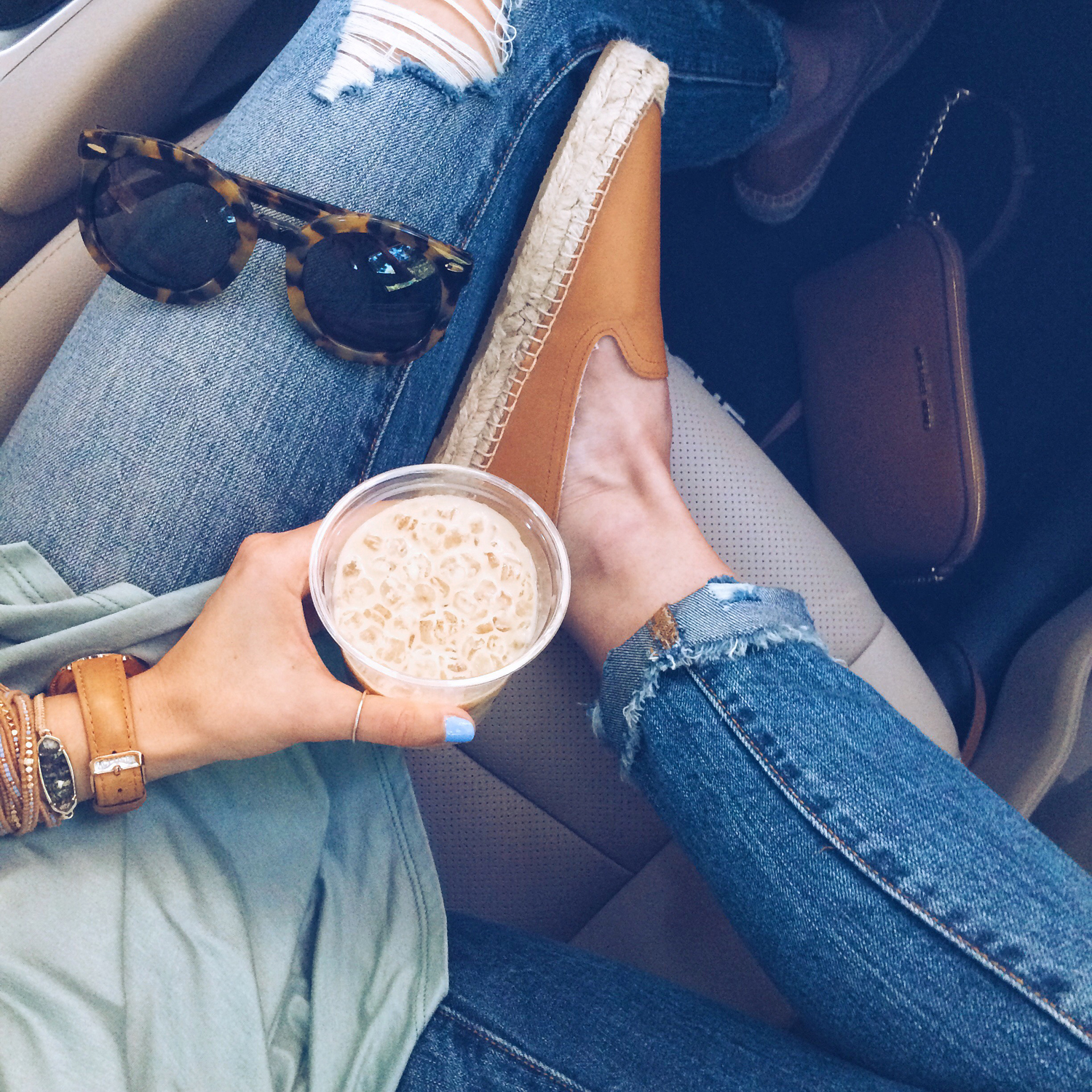 livvyland-blog-olivia-watson-austin-texas-fashion-blogger-road-trip-soludos-karen-walker-sunglasses-iced-latte-summer-nissan-rogue