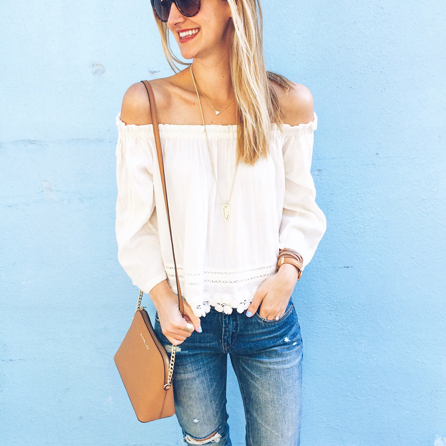 livvyland-blog-olivia-watson-austin-texas-fashion-blogger-embroidered-off-shoulder-top-summer-style-outfit