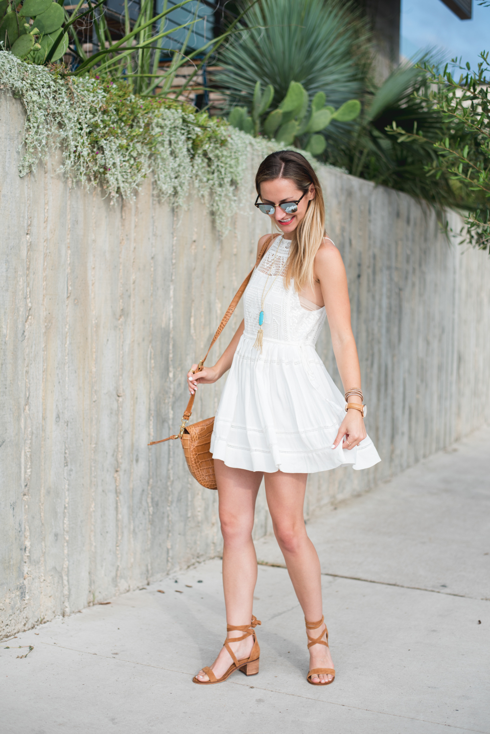 livvyland-blog-olivia-watson-austin-texas-fashion-blogger-free-people-flowy-white-high-neck-crochet-dress-tassel-south-lamar-kathryn-frazer-photography-boho-festival-outfit-2