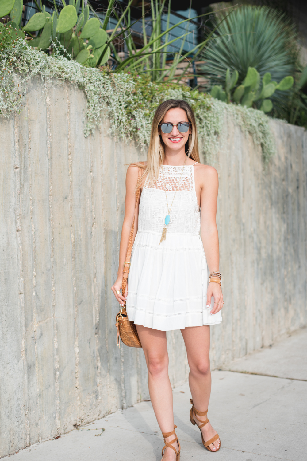 livvyland-blog-olivia-watson-austin-texas-fashion-blogger-free-people-flowy-white-high-neck-crochet-dress-tassel-south-lamar-kathryn-frazer-photography-boho-festival-outfit-4
