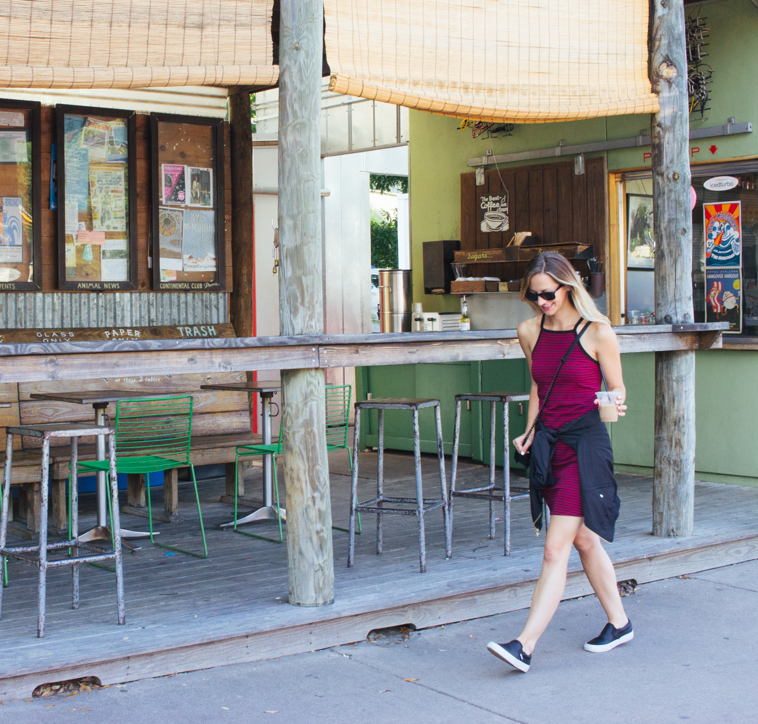 livvyland-blog-olivia-watson-austin-texas-fashion-style-blogger-jos-coffeehouse-south-congress-avenue-90s-style-express-black-bomber-jacket-vans-slip-on-sneakers-casual-weekend-outfit-9