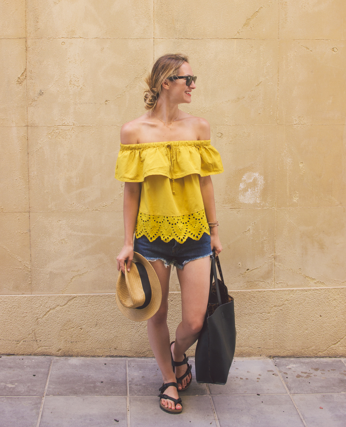 livvyland-blog-olivia-watson-fashion-blogger-austin-texas-cartagena-spain-princess-cruises-mediterranean-madewell-off-shoulder-top-13