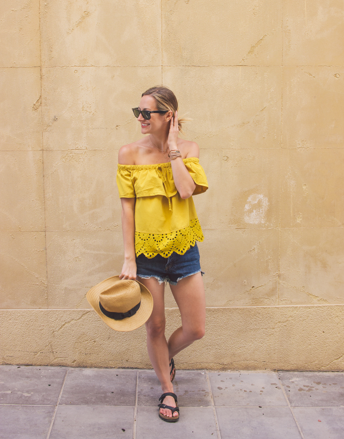 livvyland-blog-olivia-watson-fashion-blogger-austin-texas-cartagena-spain-princess-cruises-mediterranean-madewell-off-shoulder-top-17