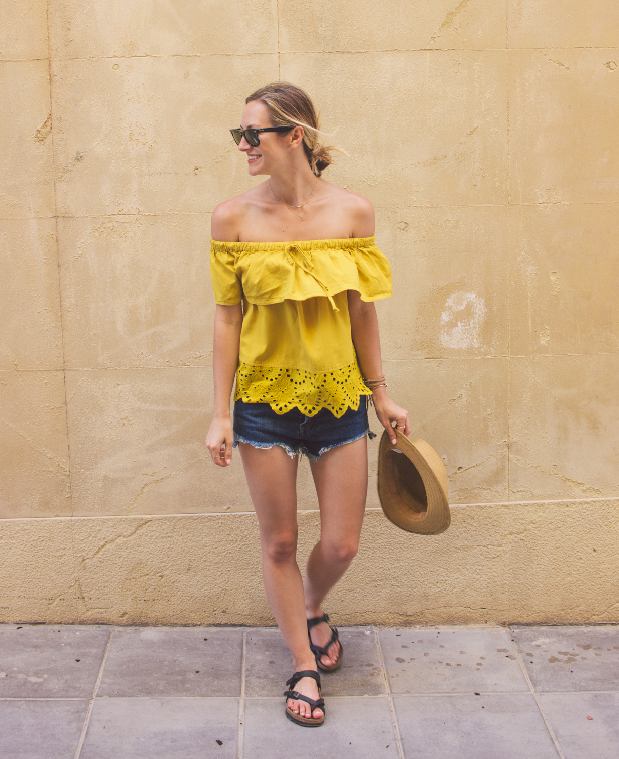 livvyland-blog-olivia-watson-fashion-blogger-austin-texas-cartagena-spain-princess-cruises-mediterranean-madewell-off-shoulder-top-18