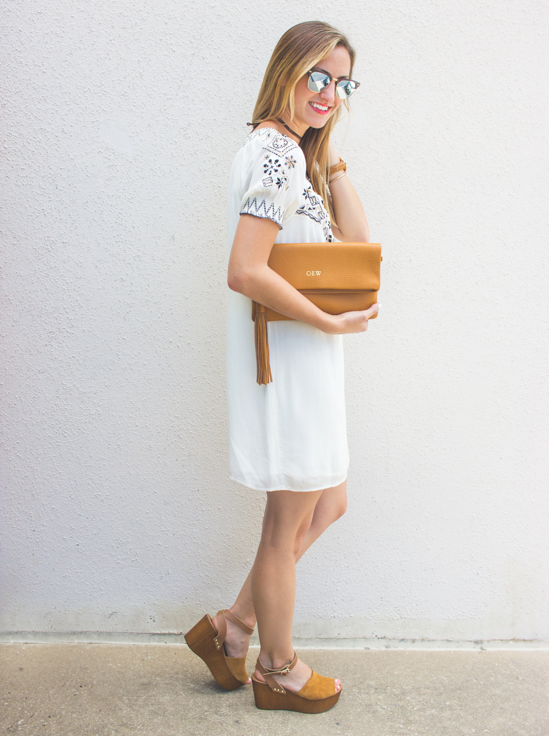livvyland-blog-olivia-watson-austin-texas-fashion-blogger-abercrombie-and-fitch-embroidered-off-shoulder-dress-seychelles-platform-wedges-boho-outfit-summer-outfit-11