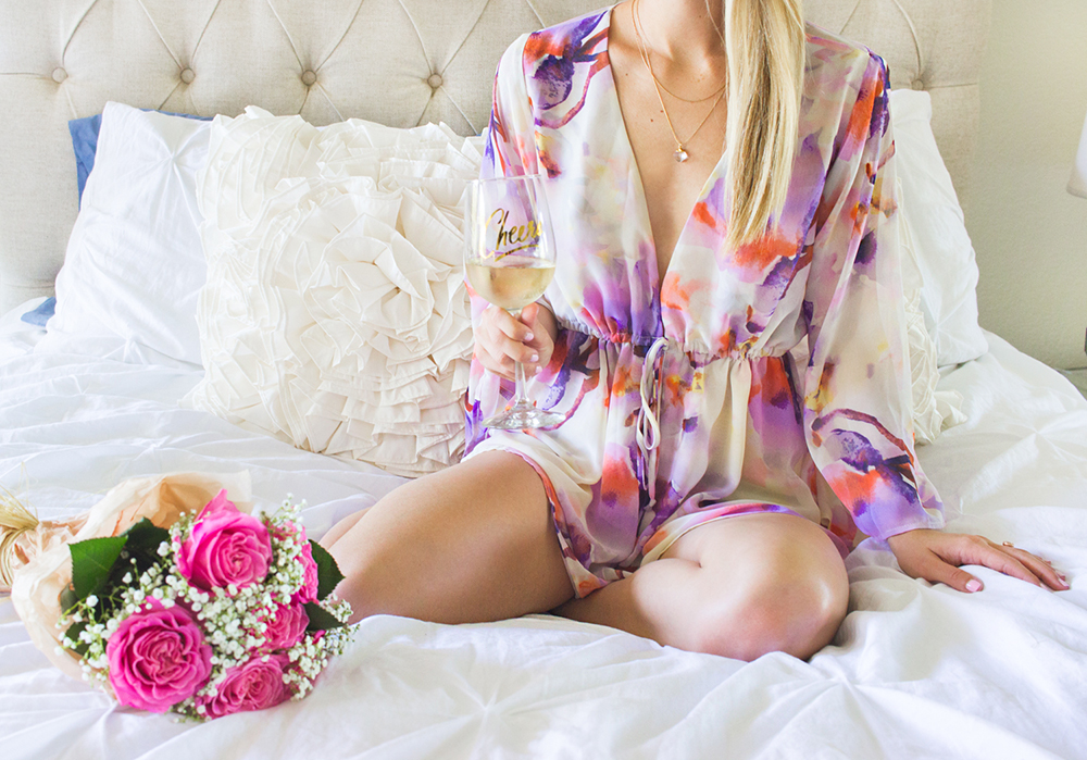 livvyland-blog-olivia-watson-austin-texas-fashion-blogger-bridal-what-to-wear-while-getting-ready-wedding-show-me-your-mumu-bell-sleeve-romper-bridesmaid-floral-1